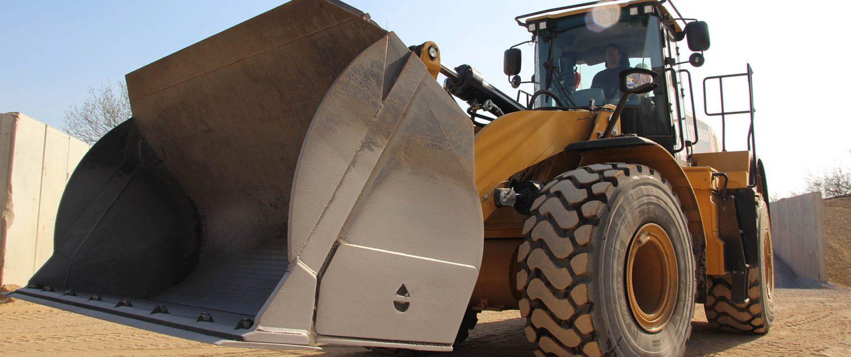 emvau-schlacke, ash trade Stellingen, wheel loader